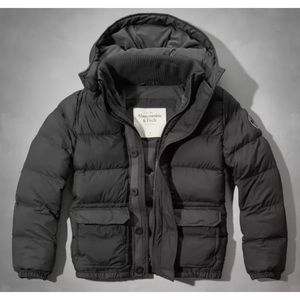 Abercrombie & Fitch XL Hunters Pass Puffer Jacket
